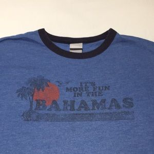 Bahamas vintage style graphic tee